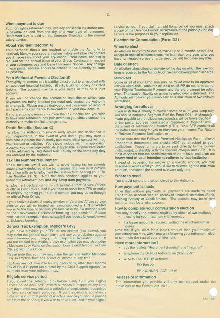 DFRDB Retirement Pay Form D20,21 p2
