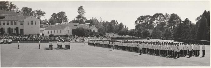 RMC Parade Ground 1972 Grad