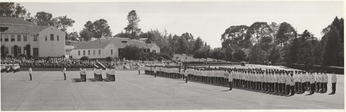 RMC Parade Ground 1972 Grad